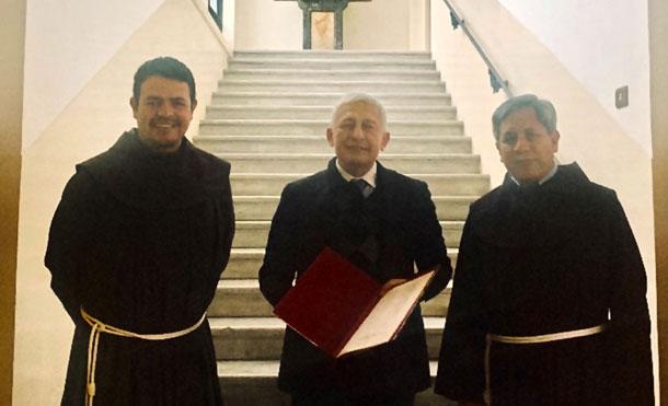 Foto Cortesía: Fray Jorge Barajas, Francisco Bautista L. y Fray Agustín Hernández