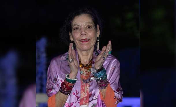 Foto CCC César Pérez: Compañera Rosario después del Mensaje del Comandante Daniel a las Familias nicaragüenses (11-01-21)