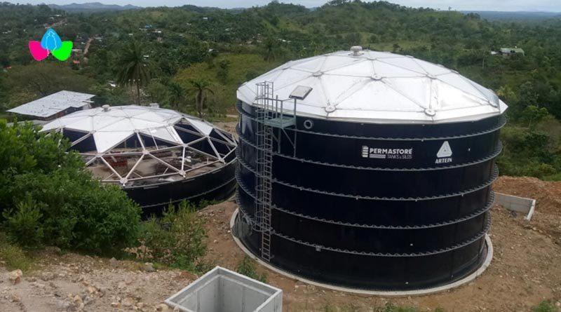 Obras que realiza ENACAL en el proyecto de ampliación del sistema de agua potable