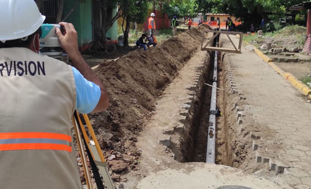 Foto Referencia: Este proyecto una vez finalizado tendrá capacidad de mejorar la calidad de Vida de 7,093 Familias del casco urbano de Rivas (39,000 Herman@s).