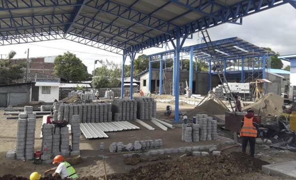 Foto ENACAL // Las obras de construcción llevan un avance del 80%