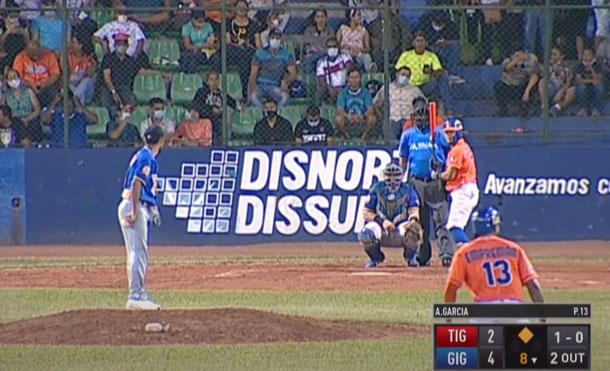 Foto Multinoticias: Esta será la tercera vez que Tigres de Chinandega y Gigantes de Rivas se enfrentan en una Final y las 2 anteriores las ganaron los chinandeganos.