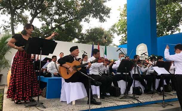 """Foto cortesía: Instituto Nicaragüense de Cultura realiza Jornada Dariana de """"Darío A Sandino"""""""
