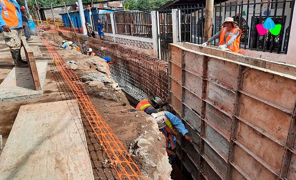 Foto Cortesía: Este proyecto será el número 10 que se ejecuta en el distrito VII, uno de los más grandes de la capital, sumando la entrega de viviendas dignas, construcción de calles nuevas, proyectos de drenaje pluvial como este, entre otros