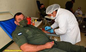 Durante la actividad, participaron 93 efectivos militares, recolectándose 46 litros de sangre, que serán utilizados en casos de cirugías, tratamiento de enfermedades crónicas y otras emergencias de salud.
