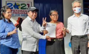 Foto Multinoticias // Esta es la Vivienda Digna número 360 que se entrega con apoyo de Taiwán