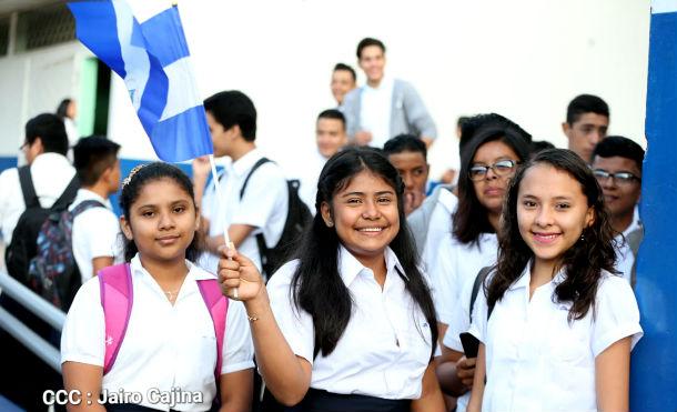 Foto Jairo Cajina // UNICEF exige un esfuerzo a los gobiernos para mantener las escuelas abiertas a pesar de la pandemia