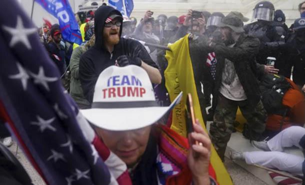Foto Cortesia // Los fascistas del capitolio sí representan a Estados Unidos y América Latina lo sabe