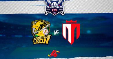 Leones de León vs Tren del Norte - Round Robin / LBPN 2020
