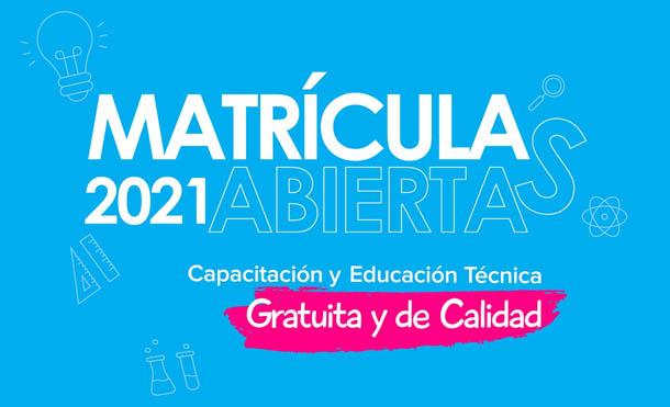 Foto INATEC // Las matriculas estarán abiertas hasta el 7 de febrero