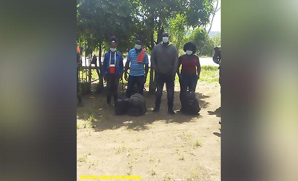 Foto Cortesía: Las personas retenidas fueron entregadas a las autoridades correspondientes.