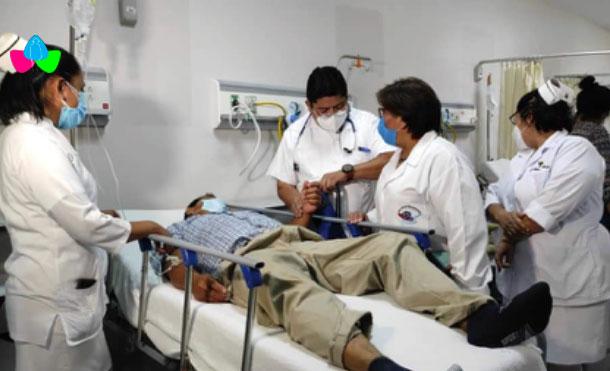 Participaron en la visita autoridades del SILAIS y del Hospital, personal médico, de enfermería y líderes sindicales.