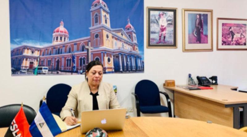 Embajadora de Nicaragua Compañera Guisell Morales