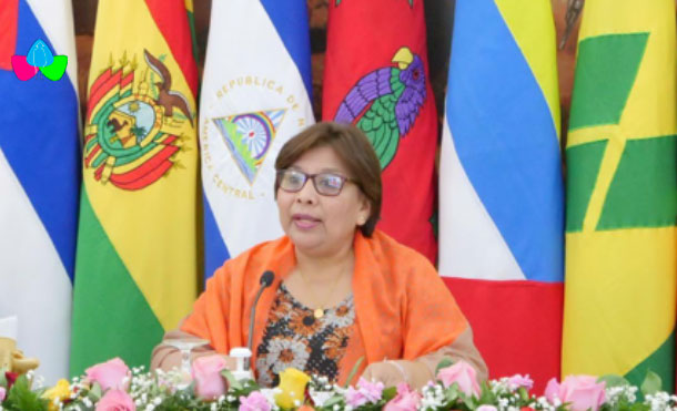 Doctora Martha Reyes, Ministra de Salud de Nicaragua