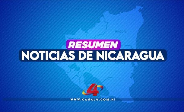 Nicaragua| Resumen de noticias: lunes 4 de enero