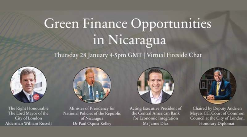 Doctor Paul Oquist, Ministro Secretario para Políticas Nacionales de Presidencia de Nicaragua en presentación de avances y oportunidades de inversión en Nicaragua