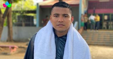 """Román """"Chocolatito"""" González brindó declaraciones durante su entrenamiento sobre la revancha ante el Gallo Estrada."""