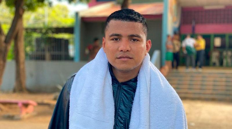 Foto de Román González en Managua