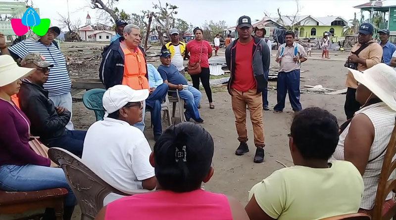 SINAPRED realizó visita de trabajo en las comunidades de Wawa Bar y Haulover de la Costa Caribe Norte