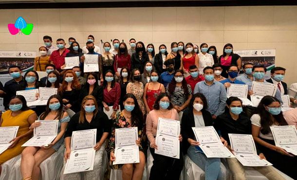 Foto Cortesía: El total de la inversión para los estudios de estos 150 estudiantes fue de C$5,026,840.00.