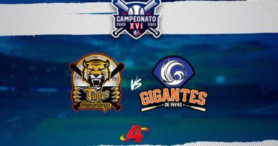 (EN VIVO) Gigantes de Rivas vs Tigres de Chinandega - Round Robin / LBPN 2020