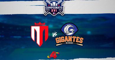 Tren del Norte vs Gigantes de Rivas - Round Robin / LBPN 2020