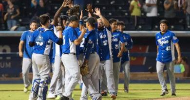 Los Tigres de Chinandega sellaron su boleto a la final del XVI Campeonato 2020 - 2021 de la Liga de Béisbol Profesional Nacional (LBPN) / Foto: CCC. César Pérez