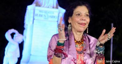 Rosario Murillo en Multinoticias