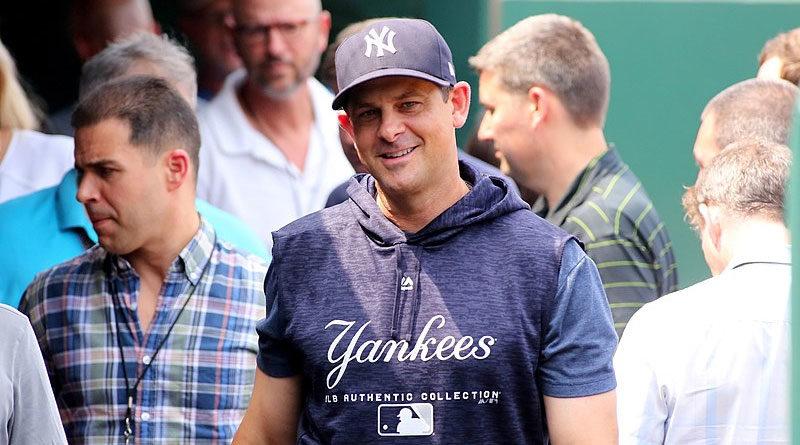 Aaron Boone mánager de los Yankees de Nueva York, habla sobre el futuro del nicaragüense Jonathan Loáisiga.