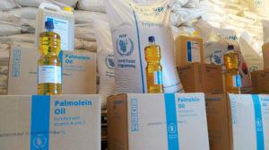 Alimentos enviados por el Gobierno Sandinista en reforzamiento a la Merienda Escolar en zonas afectadas por los huracanes Eta y Iota