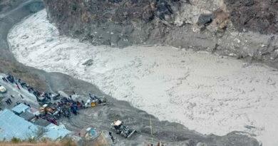 Región de Uttarakhand de la India en donde murieron al menos 9 personas producto del colapso del Glaciar en la zona del Himalayas