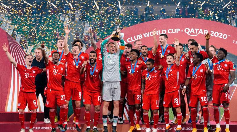 El Bayern de Múnich celebra su triunfo ante los Tigres en Mundial de Clubes