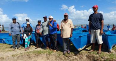 Pescadores del Caribe Norte recibieron nuevos bonos pesqueros