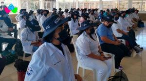 Médicos, enfermeras y técnicos del MINSA listos preparados para viajar a la Costa Caribe Sur