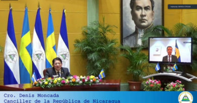 Ceremonia de Presentación de Copias de Estilo del Embajador Del Reino de Suecia, Señor Hans Magnusson