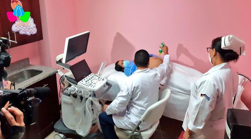Nueva clínica perinatal en Hospital Alemán Nicaragüense.