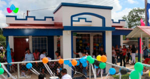 Nueva escuela en Las Breñas, Rosita en la Región Autónoma de la Costa Caribe Norte de Nicaragua.