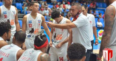 David Rosario durante un partido del Real Estelí en el Polideportivo Alexis Argüello de Managua