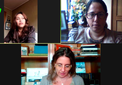 Compañera Leydi Pol, Ministra Consejera; Compañera Lylliam Méndez, Encargada de Negocios; Francisca Valdés, Directora Ejecutiva de Mujeres Empresarias de Chile.