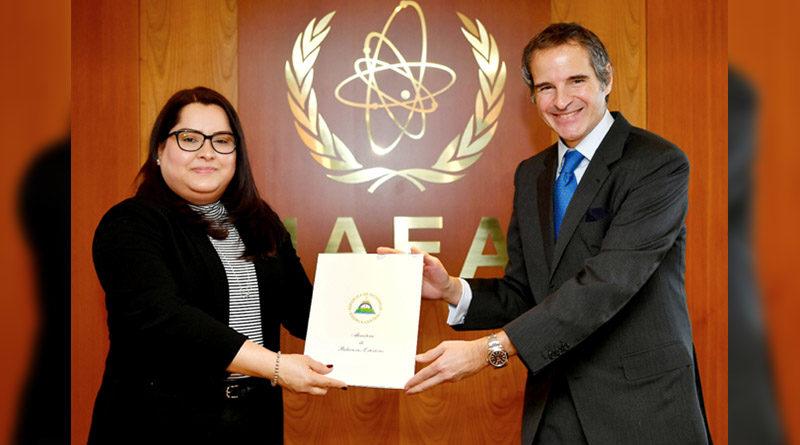 Nueva Embajadora y Representante Permanente de Nicaragua ante OIEA y CTBTO