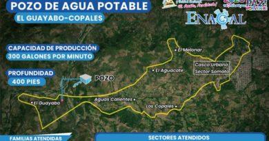 Sitio de ubicación de nuevo pozo de agua potable en ENACAL
