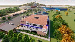 Diseño de las nuevas oficinas a construirse en Puerto Sandino