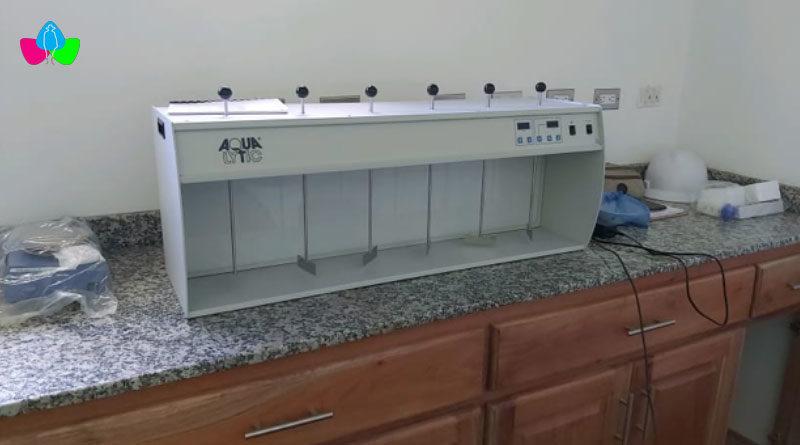 Nuevos equipos entregados por ENACAL para el Nuevo Laboratorio de Calidad del Agua ubicado en la ciudad de Bluefields.