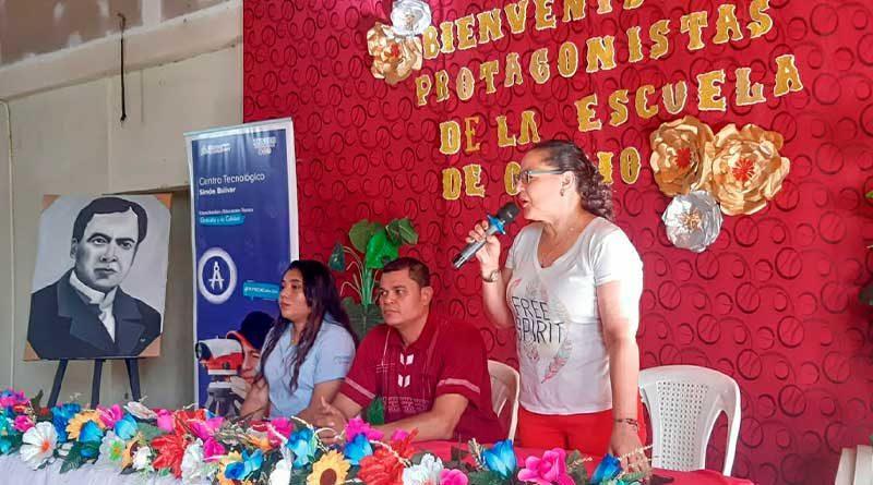 Inauguración de Escuela de Oficio en Tipitapa