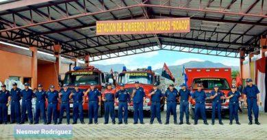 Nueva estación básica de bomberos inaugurada en la ciudad de Boaco