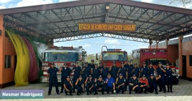 Vista de la nueva estación de bomberos inaugurada en la ciudad de Juigalpa, Chontales