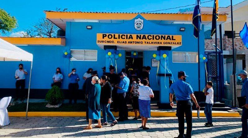 Nueva estación policial inaugurada en San Nicolás, Estelí