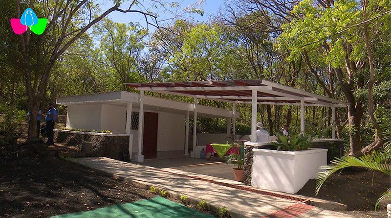 Nueva Estación Biológica ubicada en el Parque Nacional Volcán Masaya.