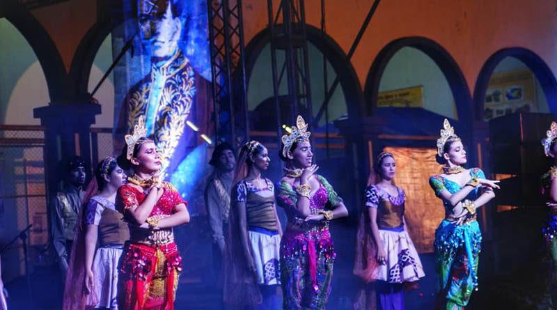 Artistas durante el II Festival Internacional de las Artes Rubén Darío