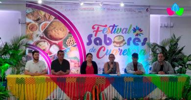 Autoridades del INTUR y demás instituciones presidiendo lanzamiento de Festival Sabores de Cuaresma 2021